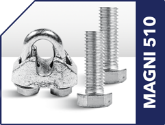Magni 510 electroplated zinc bolts and fasteners